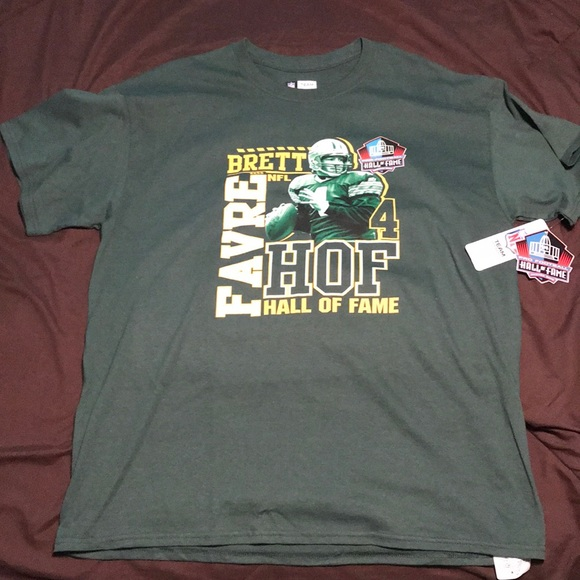 info for 693b2 3d9ad Hall of Fame edition Brett Favre Shirt NWT
